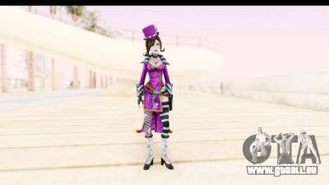 Borderland - Moxi Purple pour GTA San Andreas deuxième écran