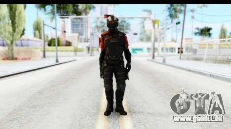 Homefront The Revolution - KPA v4 Black für GTA San Andreas zweiten Screenshot