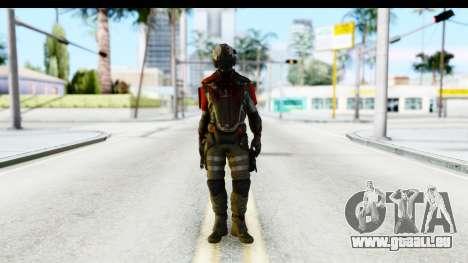 Homefront The Revolution - KPA v1 Dead pour GTA San Andreas deuxième écran