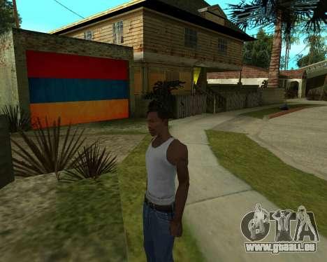 Garage CJ Armenischen für GTA San Andreas