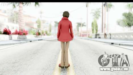 Shintaro Kirasagi (Kagerou Project) pour GTA San Andreas troisième écran