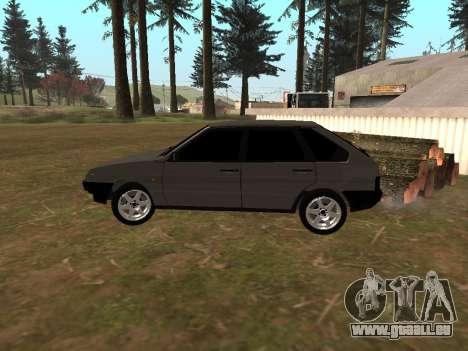 2109 Klassiker für GTA San Andreas zurück linke Ansicht
