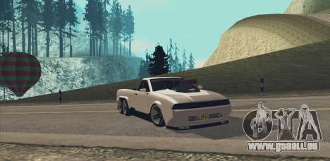 Elegy Ibragim pour GTA San Andreas vue de droite