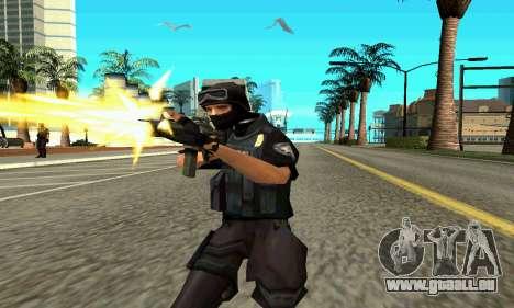 NextGen verändert die ursprüngliche Haut SWAT für GTA San Andreas