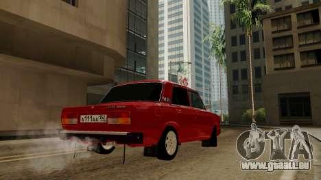 rus_racer ENB v1.0 pour GTA San Andreas deuxième écran