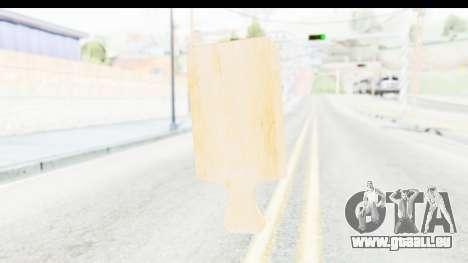 Cutting Board für GTA San Andreas dritten Screenshot