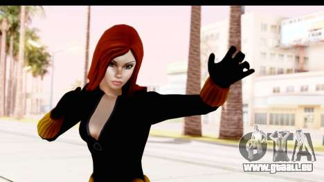 Marvel Heroes - Black Widow für GTA San Andreas