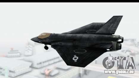 CoD Black Ops 2 - FA-38 für GTA San Andreas linke Ansicht