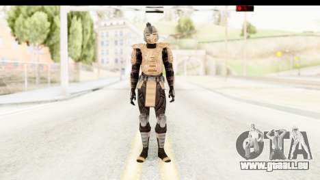Cyber Tremor MK3 pour GTA San Andreas deuxième écran
