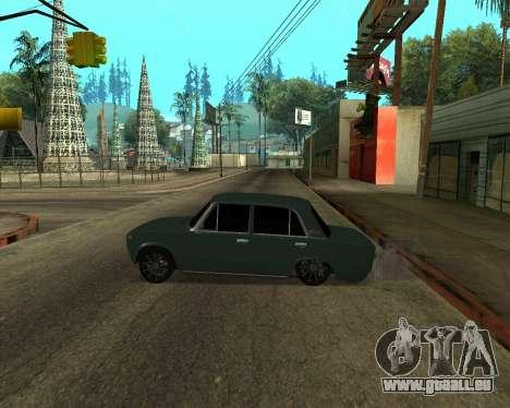 VAZ 2101 Armenian pour GTA San Andreas vue de côté