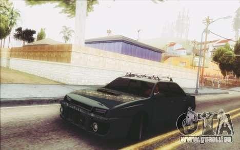 New Stance Sultan pour GTA San Andreas laissé vue