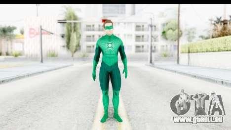 Green Lantern The Movie - Hal Jordan pour GTA San Andreas deuxième écran