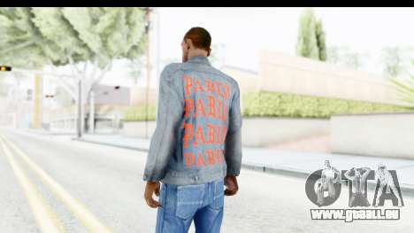 PABLO Denim Jacket für GTA San Andreas zweiten Screenshot