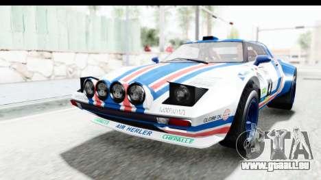 GTA 5 Lampadati Tropos Rallye IVF für GTA San Andreas Motor