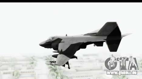MGSV Phantom Pain Hydra v2 pour GTA San Andreas laissé vue