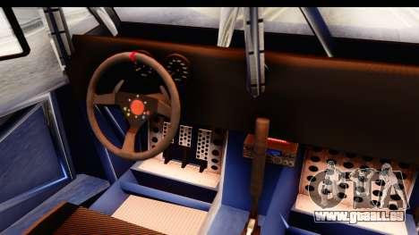 GTA 5 Desert Raid SA Lights pour GTA San Andreas vue intérieure