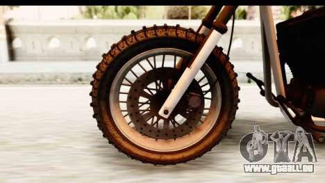 GTA 5 Western Cliffhanger Stock für GTA San Andreas Rückansicht
