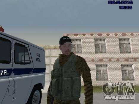 Policier pour GTA San Andreas