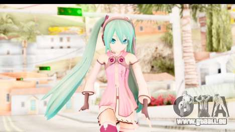 Project Diva F - Hatsune Miku Vocal Star Remade pour GTA San Andreas