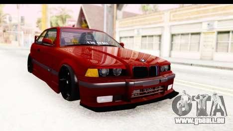 BMW M3 E36 Spermatozoid Edition pour GTA San Andreas vue de droite