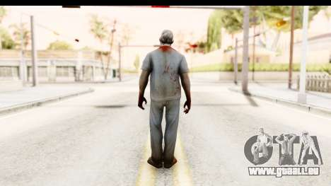 Left 4 Dead 2 - Zombie Surgeon für GTA San Andreas dritten Screenshot
