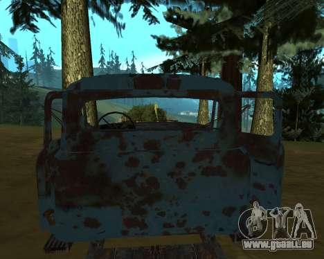 Alte rostige GAS-53 für GTA San Andreas zweiten Screenshot