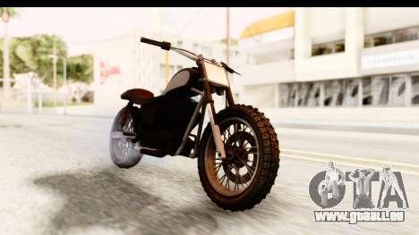 GTA 5 Western Cliffhanger Stock für GTA San Andreas