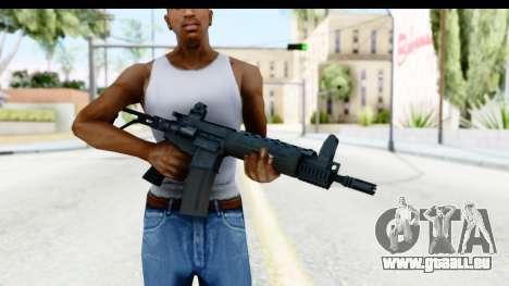 LR-300 pour GTA San Andreas troisième écran