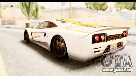 GTA 5 Progen Tyrus SA Style für GTA San Andreas Innen