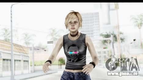 Silent Hill 3 - Heather Sporty Dark Gray Obama pour GTA San Andreas