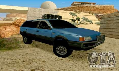 Volkswagen B3 für GTA San Andreas