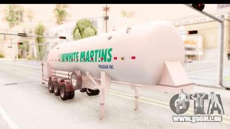 Trailer Brasil v5 pour GTA San Andreas vue de droite