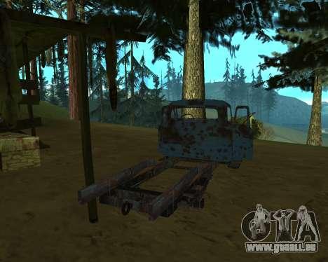 Alte rostige GAS-53 für GTA San Andreas dritten Screenshot