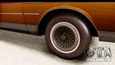 Chevrolet Caprice 1989 Station Wagon IVF für GTA San Andreas Rückansicht