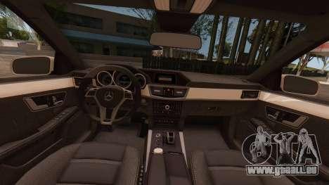 Mercedes-Benz E63 GSC pour GTA San Andreas vue de droite