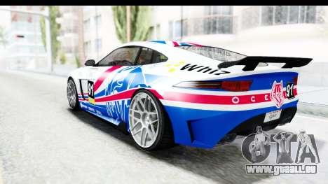 GTA 5 Ocelot Lynx SA Lights für GTA San Andreas Innen