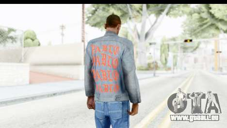 PABLO Denim Jacket für GTA San Andreas dritten Screenshot