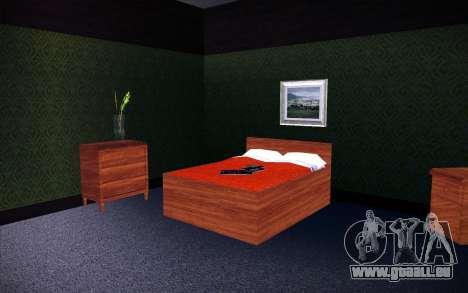 New CJ House pour GTA San Andreas quatrième écran