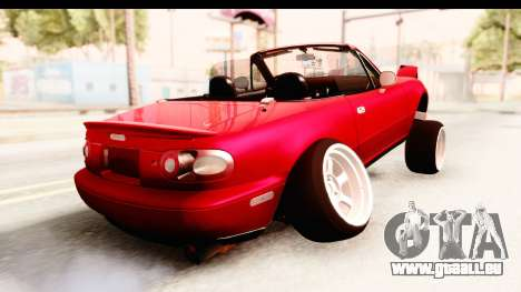 Mazda Miata with Crazy Camber für GTA San Andreas