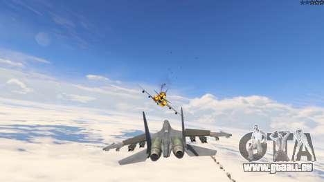 GTA 5 Su-30МКК HQ Chinesisch neunter Screenshot
