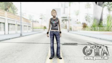 Silent Hill 3 - Heather Sporty Dark Gray Obama für GTA San Andreas zweiten Screenshot