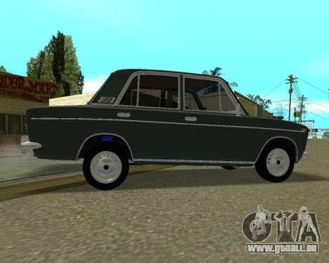 VAZ 2103 arménien pour GTA San Andreas vue intérieure