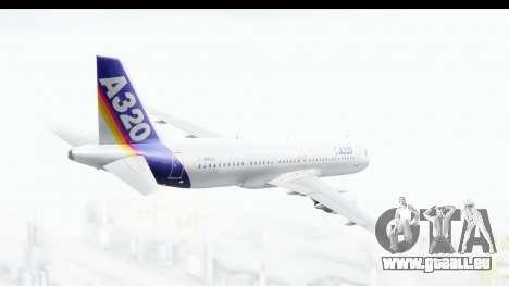 Airbus A320-200 Industrie MSN 1 1987 First Fligh für GTA San Andreas rechten Ansicht