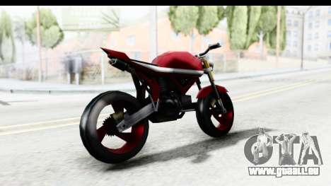 Custom Stunt FCR9000 für GTA San Andreas linke Ansicht