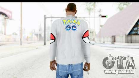 Sweat Pokemon Go Pikachu pour GTA San Andreas deuxième écran