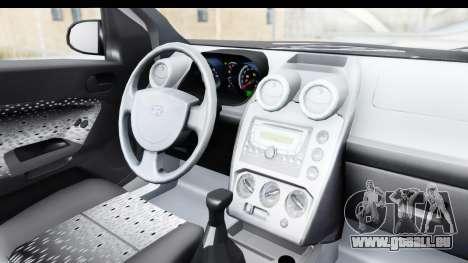 Ford Fiesta 2004 für GTA San Andreas Innenansicht