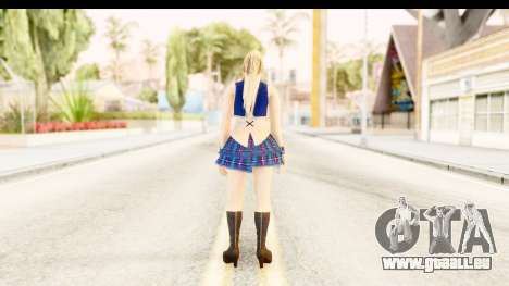 DoA 5 - Sarah Pop Idol für GTA San Andreas dritten Screenshot