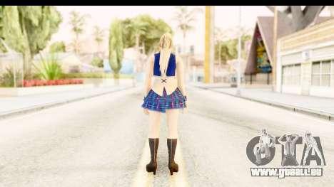 DoA 5 - Sarah Pop Idol für GTA San Andreas dritten Screenshot