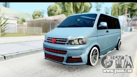 Volkswagen Caravelle pour GTA San Andreas