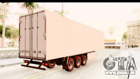 Trailer ETS2 v2 New Skin 1 für GTA San Andreas linke Ansicht